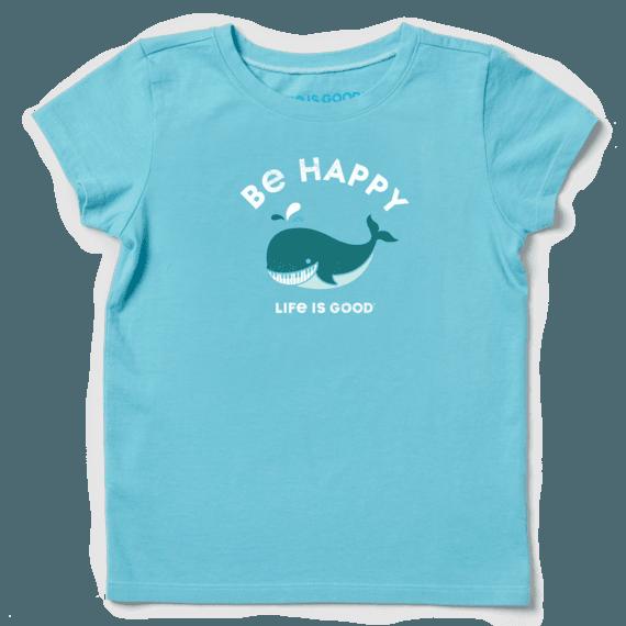 Girls Be Happy Whale Crusher Tee