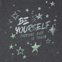 Girls Be Yourself Aly Tee