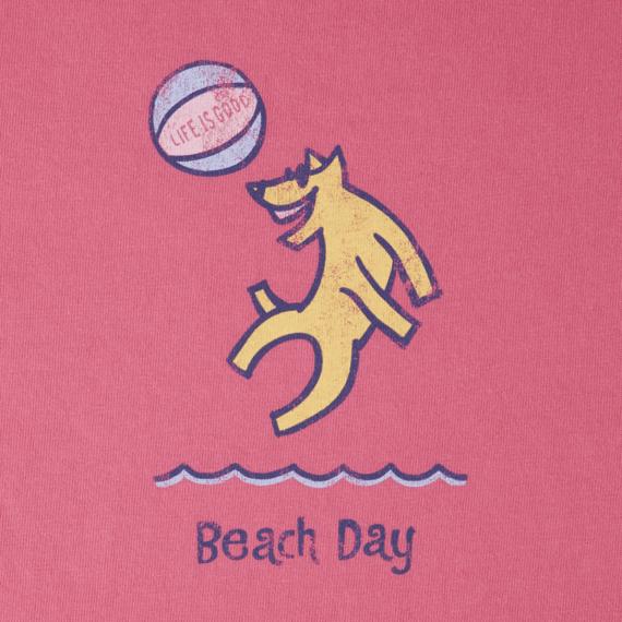 Girls Beach Day Crusher Tee