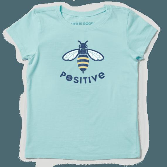 Girls Bee Positive Crusher Tee