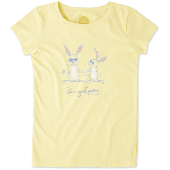 Girls Bunny System Crusher Tee