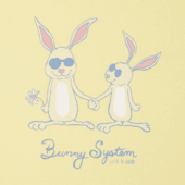 Girls Bunny System Crusher Tee