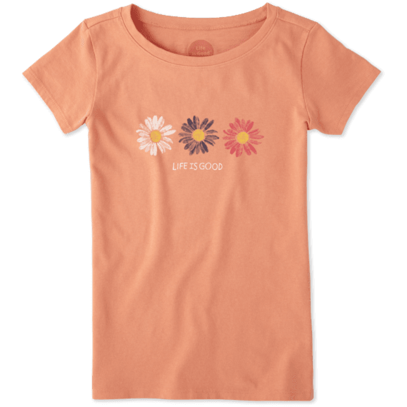 Girls Daisies Crusher Tee