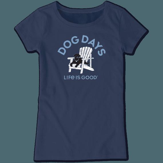 Girls Dog Days Crusher Tee