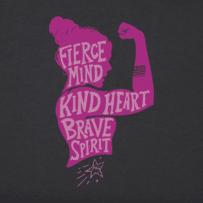Girls Fierce Kind Brave Aly Tee