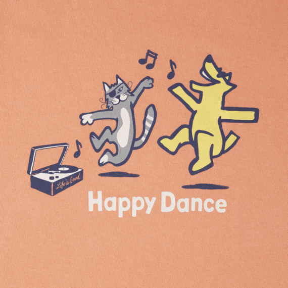 Girls Happy Dance Crusher Tee