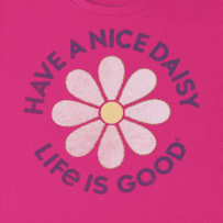 Girls Have A Nice Day Smiling Smooth Tee