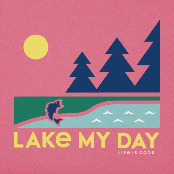 Girls Lake My Day Crusher Tee