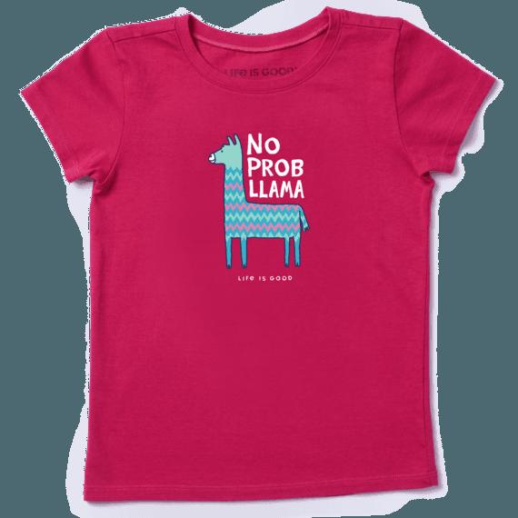 Kids Boys Girls No Prob Llama T-Shirt Mens Funny problem
