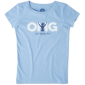 Girls One Mighty Girl Crusher Tee