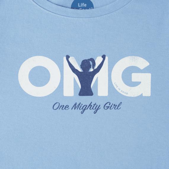 Girls One Mighty Girl Crusher Tee