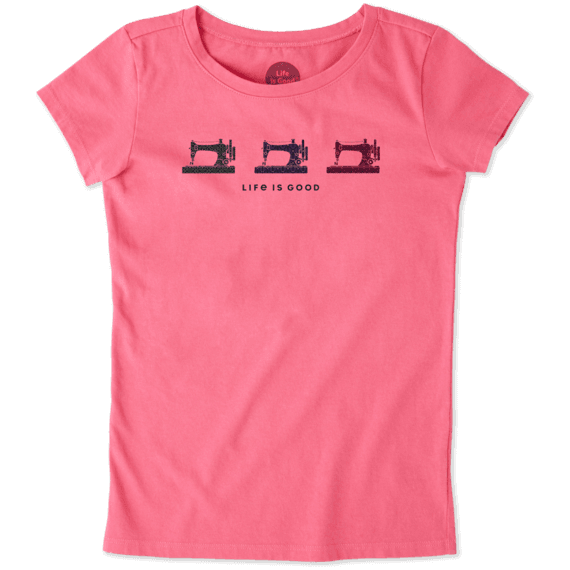 Girls Primal Sew Crusher Tee