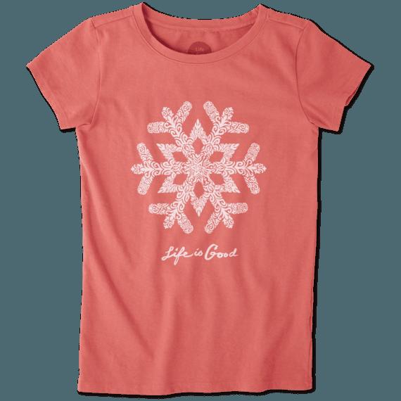 Girls Primal Snowflake Crusher Tee