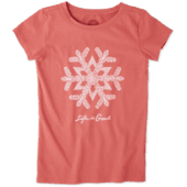 Girls Primal Snowflake Crusher Tee