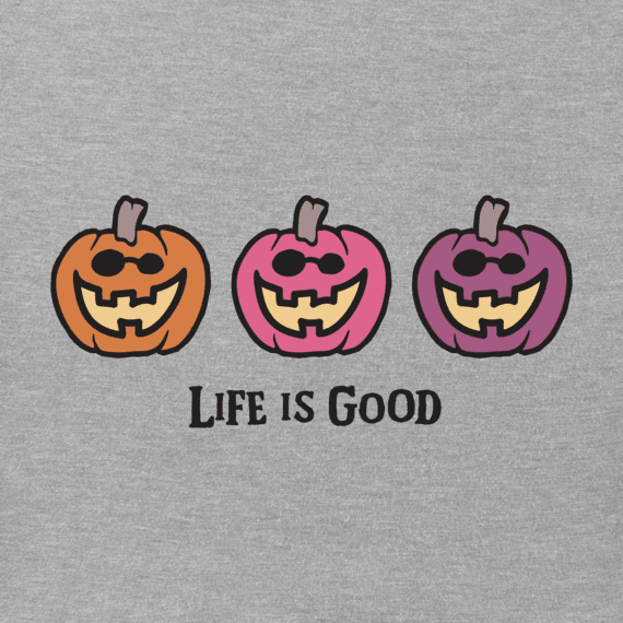 Girls Pumpkin Trio Crusher Tee