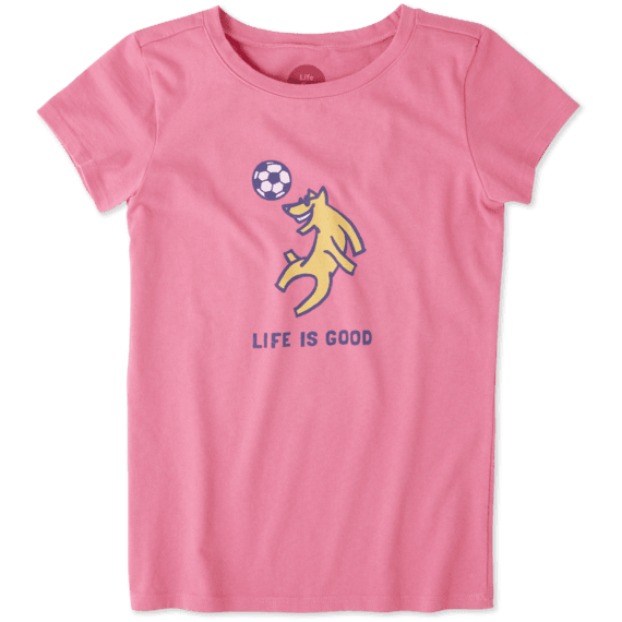 Girls Rocket Soccer Crusher Tee