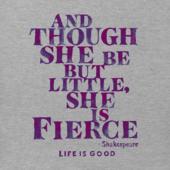 Girls She Is Fierce Crusher Tee