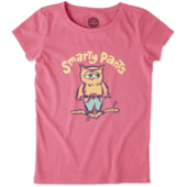 Girls Smarty Pants Crusher Tee