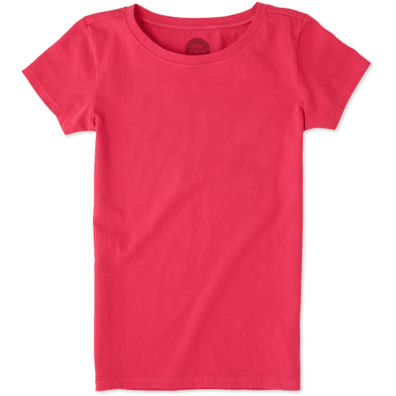 Girls Solid Crusher Tee