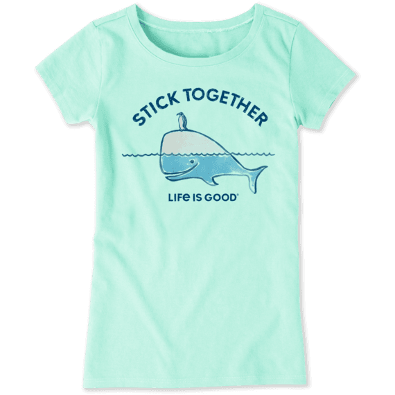 Girls Stick Together Crusher Tee