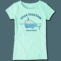 Girls Stick Together Crusher Tee