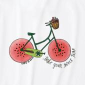 Girls Sweet Time Bike Crusher Tee