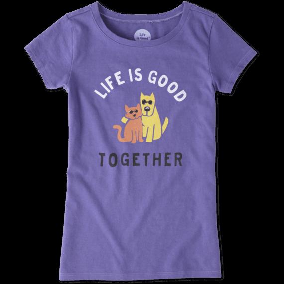 Girls Together Hug Crusher Tee