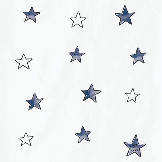 Girls Tossed Stars Crusher Tee