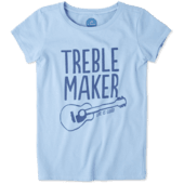 Girls Treble Maker Crusher Tee