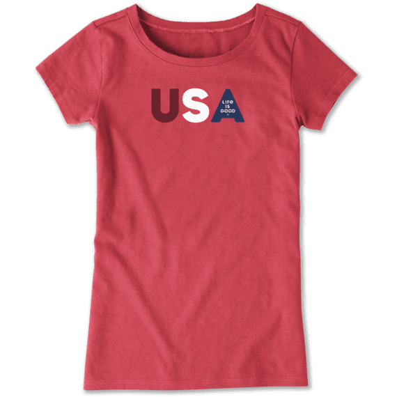Girls USA LIG Crusher Tee