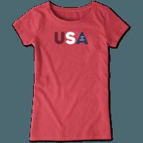 Girls USA LIG Crusher Tee