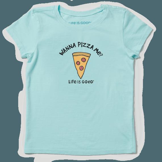 Girls Wanna Pizza Me? Crusher Tee