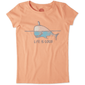 Girls Whale and Penguin BFF's Crusher Tee