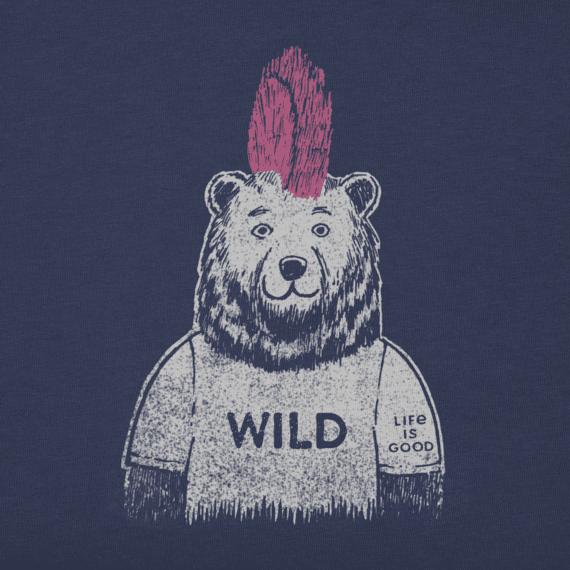 Girls Wild Bear Crusher Tee