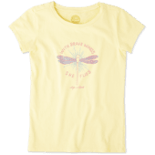 Girls With Brave Wings Crusher Tee