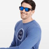 Glacier: Rectangle Sunglasses
