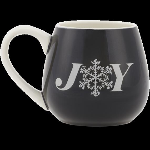 Joy Snowflake Good Cheer Mug