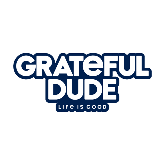 Grateful Dude Decal