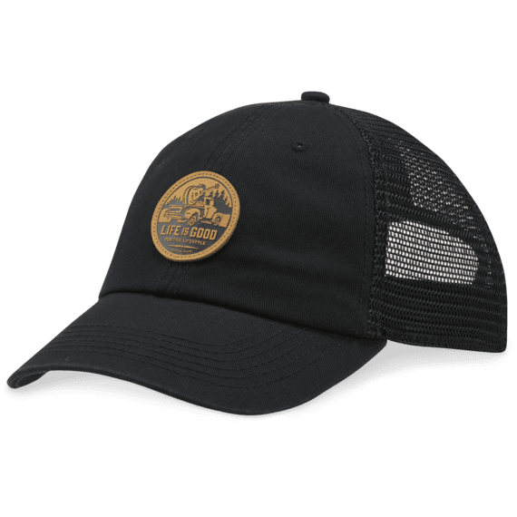 Guitar Truck Patch Soft Mesh Back Cap