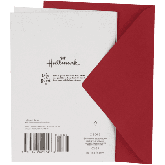 Glide Slide Fold Out Holiday Card