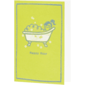 Happy Hour Tub Mother's Day Card