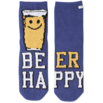 Happy Sudsy Plush Snuggle Sock