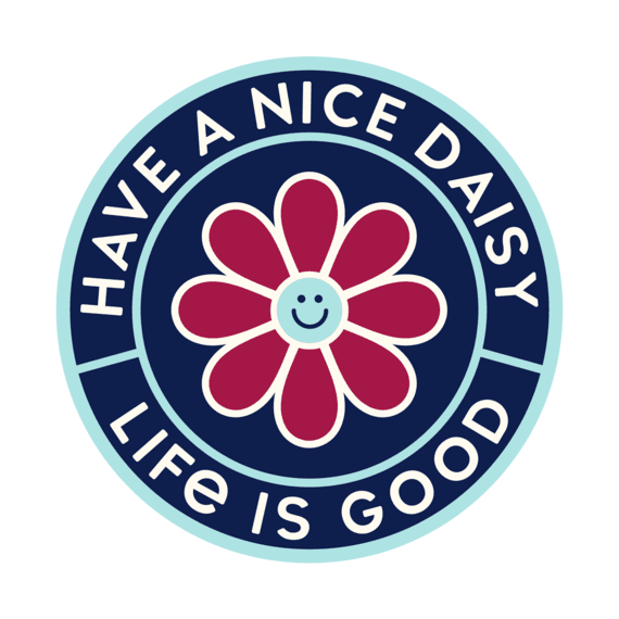 Have a Nice Daisy Magnet