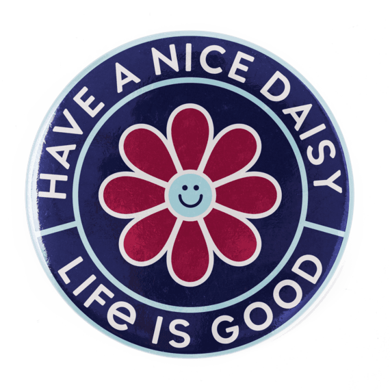 Have a Nice Daisy Positive Pin