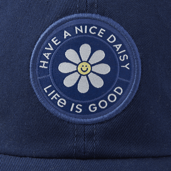 Have a Nice Daisy Soft Mesh Back Cap