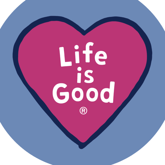 Heart LIG Circle Sticker