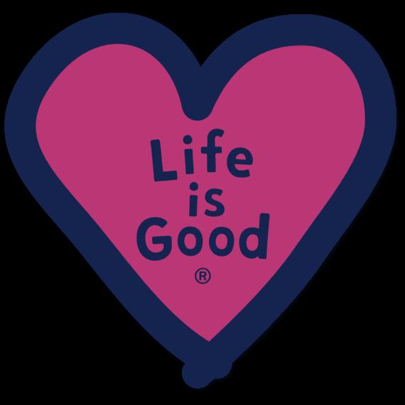 Heart LIG Die Cut Sticker
