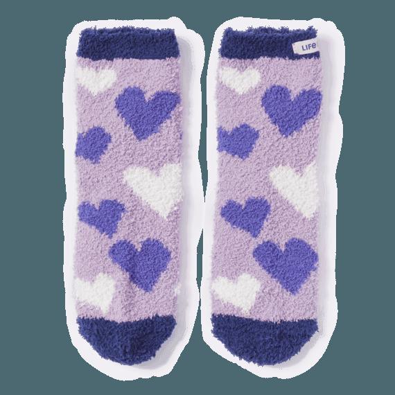Heart Toss Snuggle Socks