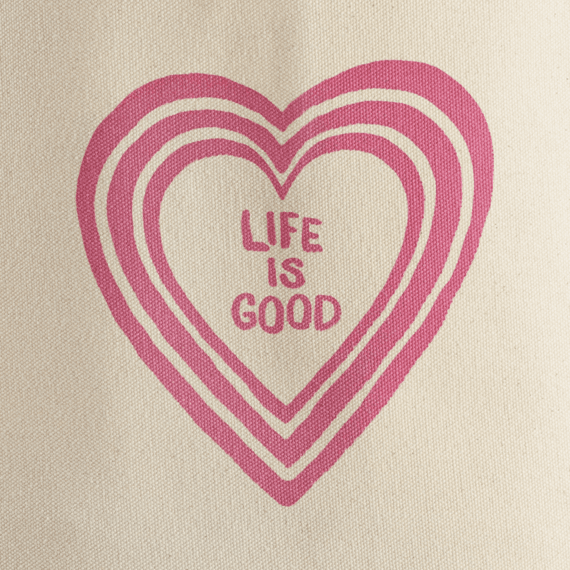 Heart Vibes Market Tote