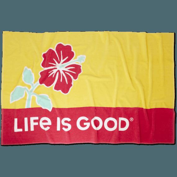 Hibiscus Sun Beach Towel